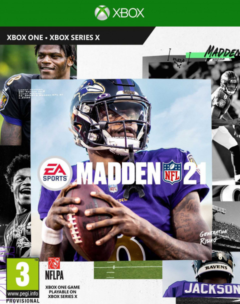 Madden NFL 21 sur ONE