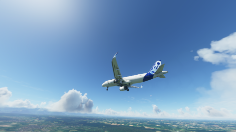 Flight Simulator, Airbus 320neo : Approche et atterrissage