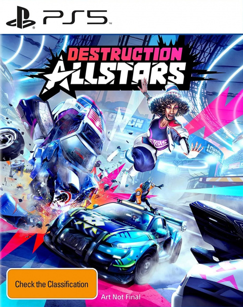 Destruction AllStars sur PS5