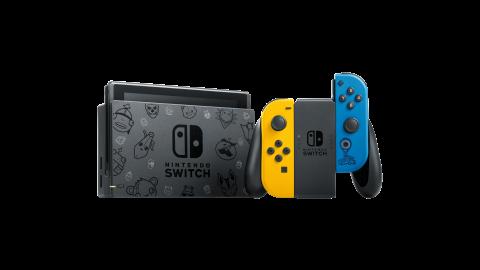 Nintendo Switch : Un pack édition spéciale Fortnite pour octobre