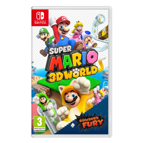 Promo Auchan : Super Mario 3D World + Bowser's Fury à -22%