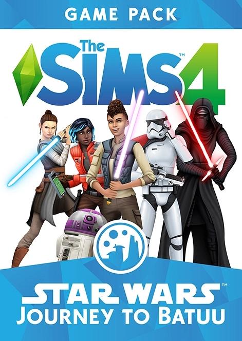 Les Sims 4 : Star Wars - Voyage sur Batuu sur PS4