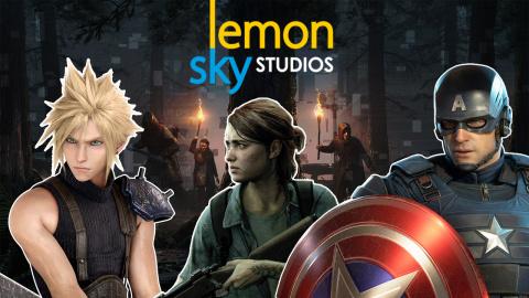 Avengers, TLOU Part II... Lemon Sky, studio d'outsourcing qui aide à bâtir les AAA