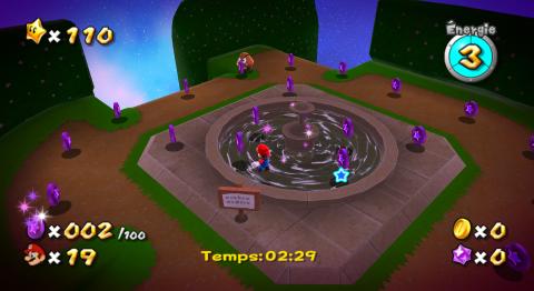 Débloquer les comètes farceuses violettes