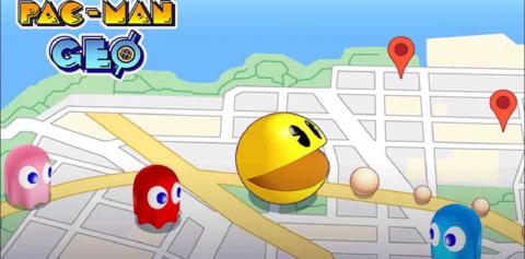 Pac-Man Geo sur iOS