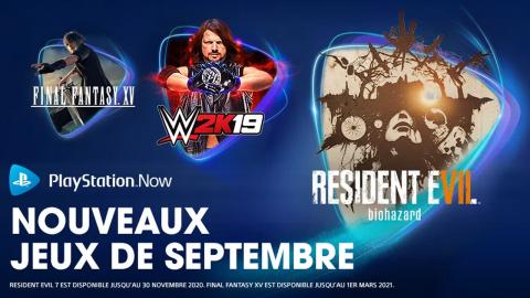 PlayStation Now : découvrez les ajouts de septembre en vidéo