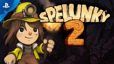 PlayStation Store : Spelunky 2 joue les spéléologues sur PS4 !