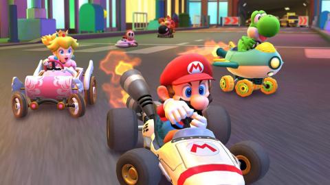 Mario Kart Tour a doublé le nombre d'enregistrements aux comptes Nintendo