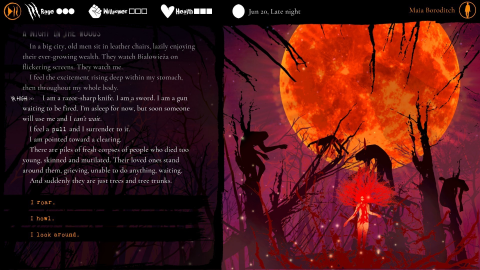 Werewolf : The Apocalypse - Heart of the Forest nous en dit plus sur son univers