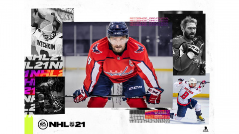 NHL 21 sur PS4