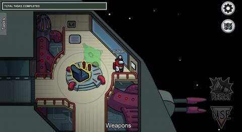 Certaines missions comme le scanner ou les armes sont visibles par tous les joueurs.