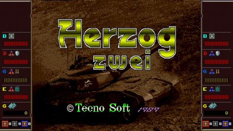 La collection SEGA AGES s'agrandit avec l'arrivée de Herzog Zwei sur Nintendo Switch