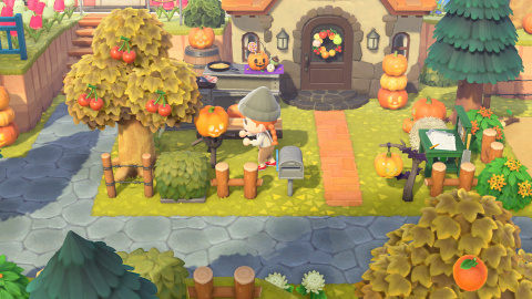 Mise à jour Halloween sur Animal Crossing, la maj d'octobre arrive