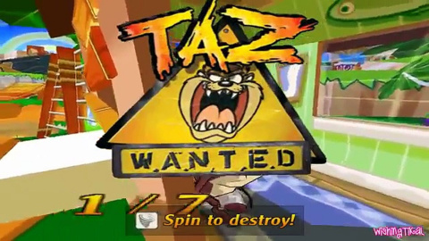 Taz Wanted soluce, guide complet