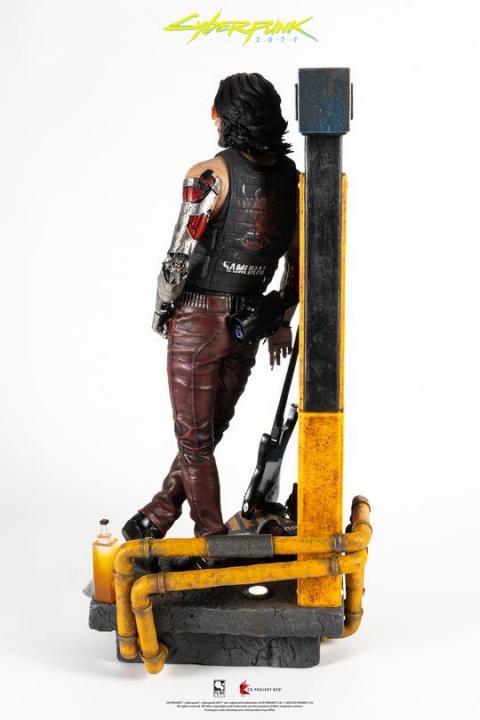 Cyberpunk 2077 : PureArts dévoile une statuette ultra-détaillée