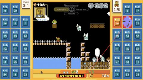 Super Mario Bros. 35 : comment réussir un top 1 ? Nos trucs et astuces pour gagner la bataille à 35