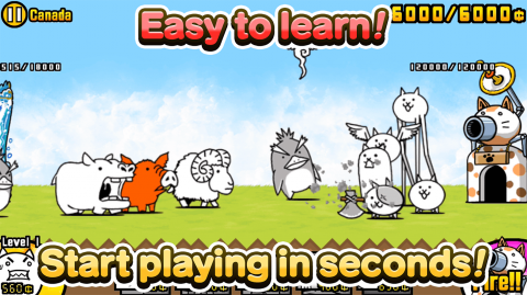 The Battle Cats : Un free-to-play décalé