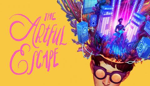 The Artful Escape sur Xbox Series