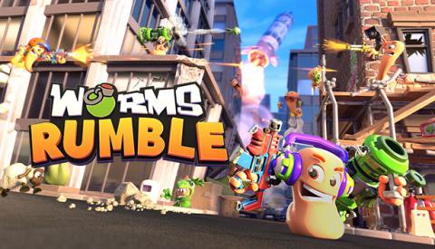 Worms Rumble sur PS4