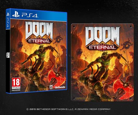 Promo Amazon : Doom Eternal en réduction de 50%