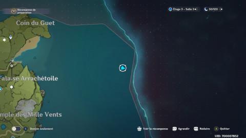 """Genshin Impact, île secrète et quête cachée """"Le temps et le vent"""" : notre guide complet"""