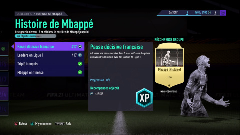 [MàJ] FIFA 21, FUT : bien progresser dans le mode saison de FUT avec les défis, notre guide