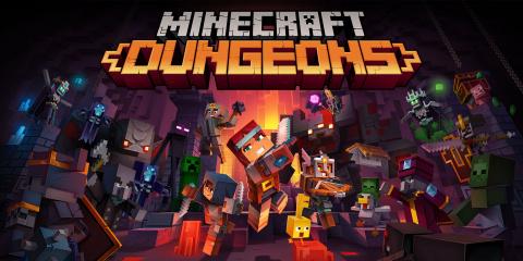 Minecraft Dungeons sur Switch