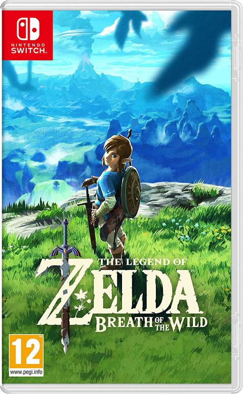 Promo Amazon: Zelda Breath Of The Wild à 46,34€