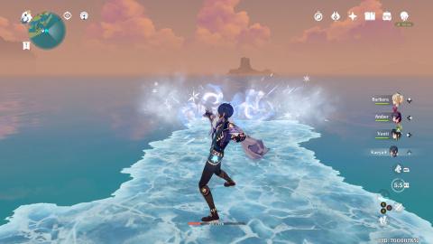 Genshin Impact, comment accéder à l'ile de l'amitié et y trouver son trésor