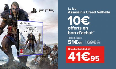 Promo Carrefour: 10€ offerts en bon d'achat pour les précommandes des sorties de fin d'année