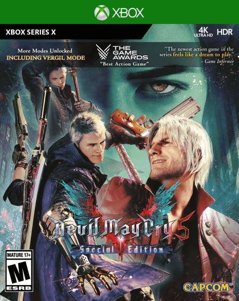 Devil May Cry 5 Special Edition : la version physique sera disponible en décembre sur PS5 et Xbox Series