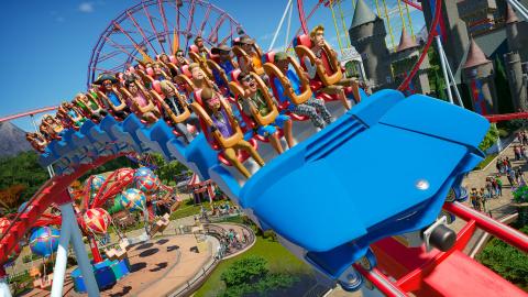 Planet Coaster s'ajoute au catalogue de lancement de la PS5 et des Xbox Series