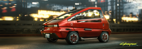 Cyberpunk 2077 présente sa conduite et ses véhicules