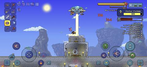 Terraria : La mise à jour 1.4 est disponible sur mobile