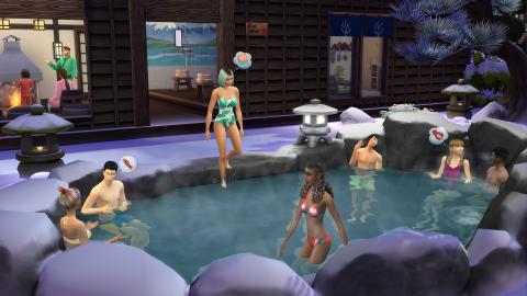 Les Sims 4 : Direction la montagne et les sports d'hiver avec la prochaine extension