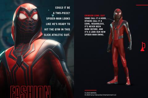 Marvel's Spider-Man : Miles Morales dévoile un nouveau costume