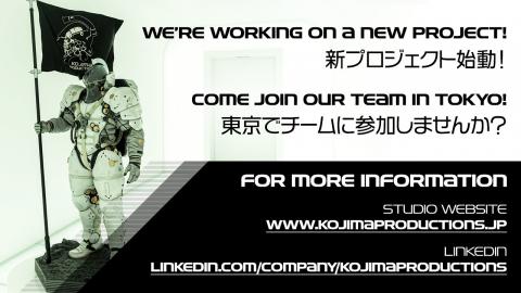 Kojima Productions confirme travailler sur un nouveau projet