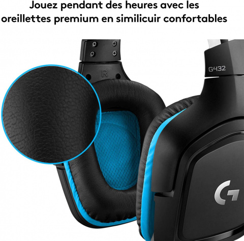 Promo Amazon : Casque Gaming Logitech G432 en réduction de 47%