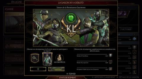 Mortal Kombat 11 – Reptile s'incruste dans le nouveau Kombat League