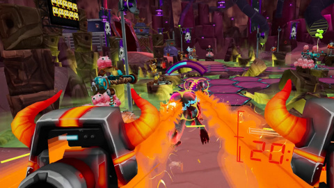 Le shooter VR Captain Toonhead vs. the Punks from Outer Space annoncé pour 2021