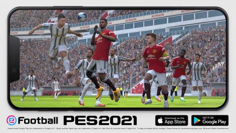 PES 2021 se lance enfin sur iOS et Android