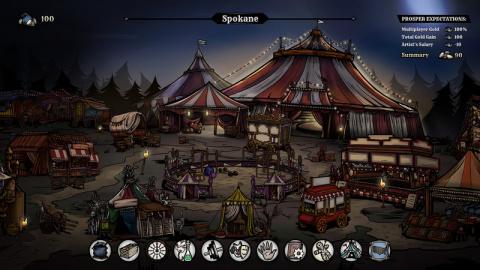 Klabater (We. The Revolution) présente The Amazing American Circus