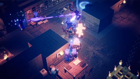 Minecraft Dungeons à moins de 25€ sur Nintendo Switch