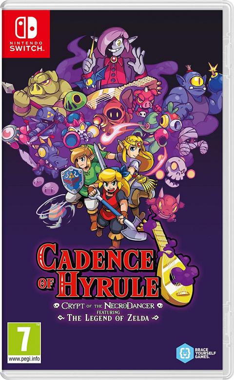 Cadence of Hyrule sur Nintendo Switch en réduction de 40% chez Amazon