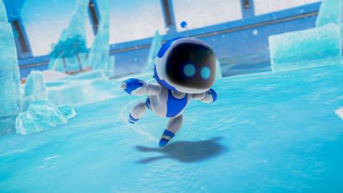Astro's Playroom : On explore l'un des niveaux de ce platformer livré avec la PS5