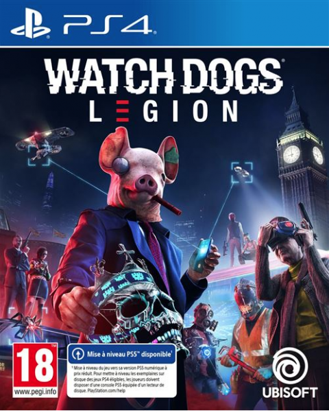 Watch Dogs Legion sur PS4