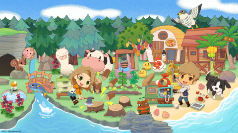 Story of Seasons : Pioneers of Olive Town sur Switch
