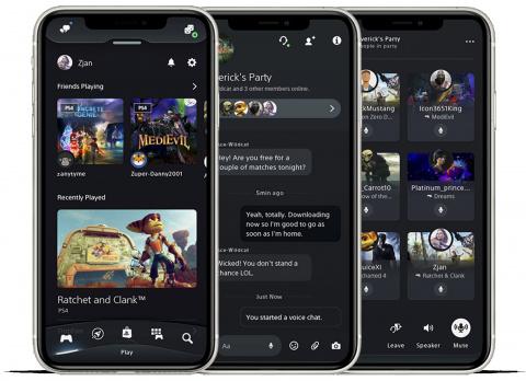 PlayStation App: Sony lance une nouvelle version de l'application iOS et Android