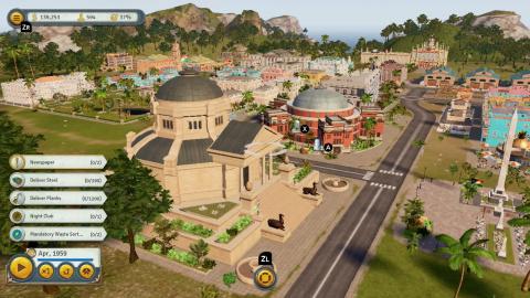 Tropico 6 prend date sur Nintendo Switch