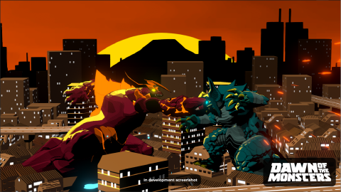 Dawn of the Monsters : Des combats de monstres géants en 2021